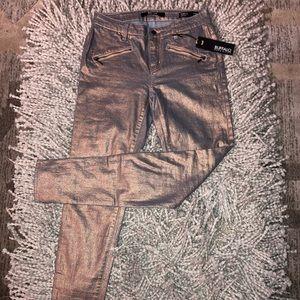 NWT Holographic Buffalo Jeans